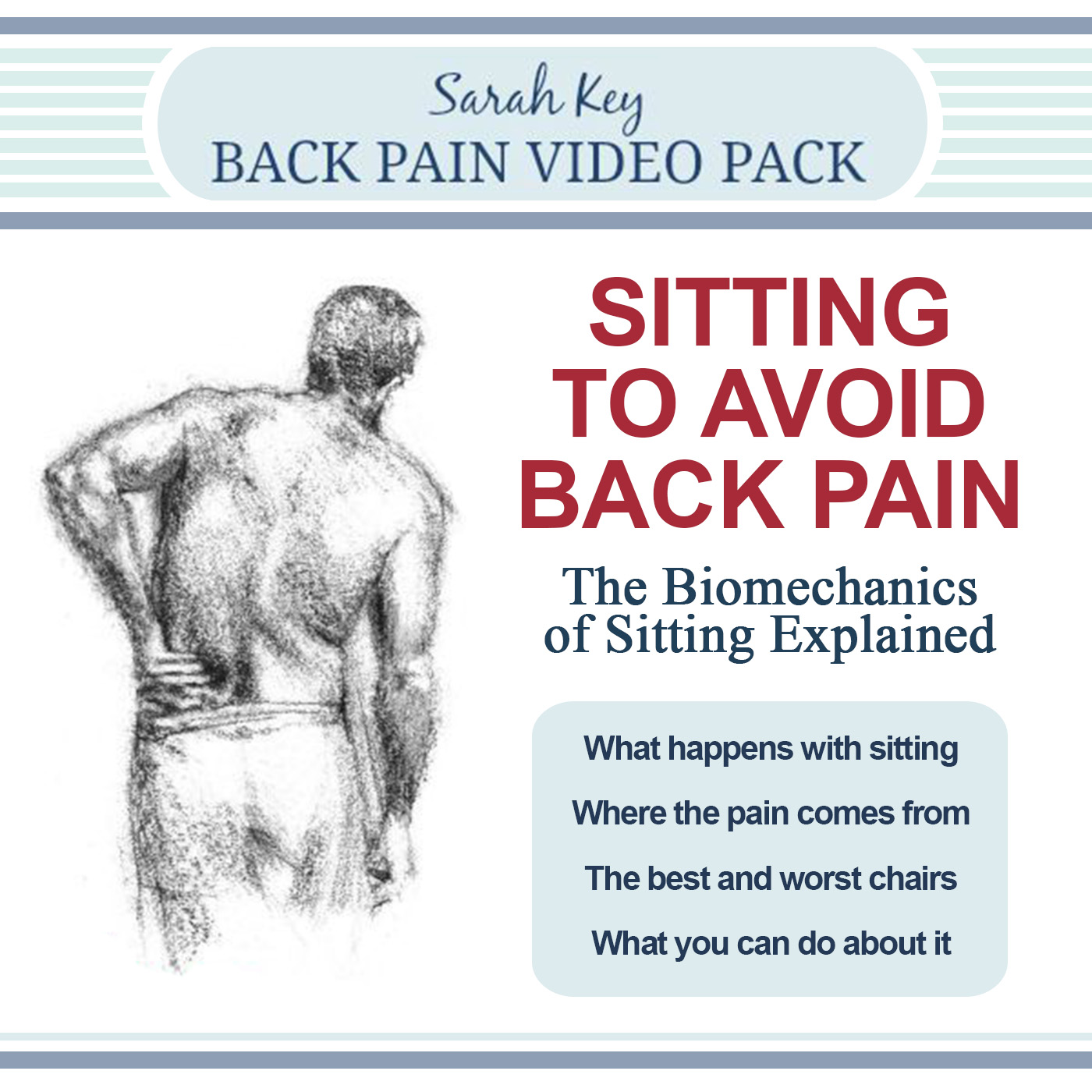 how to sit in a car to avoid back pain