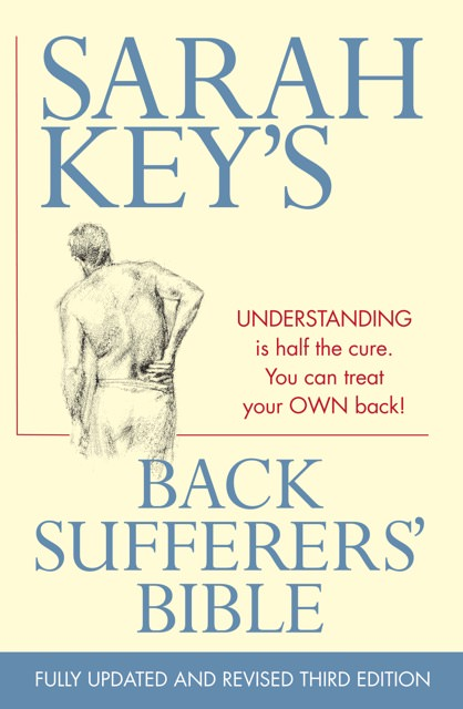 Cover of Back Sufferer's Bible by Sarah Key