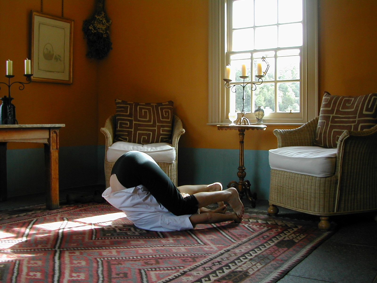 The Plough is exercise 14 in Sarah Key's list of the best yoga for lower back pain