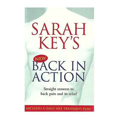 Sarah Key's Back in Action Pain Relief Book