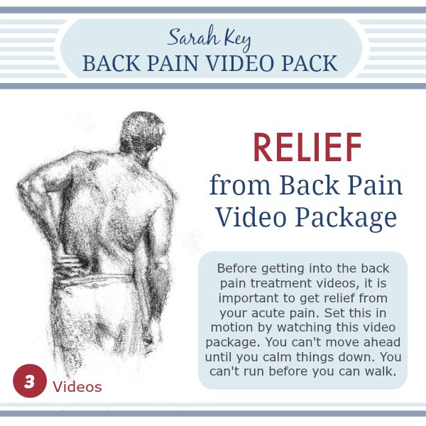 back pain relief videos