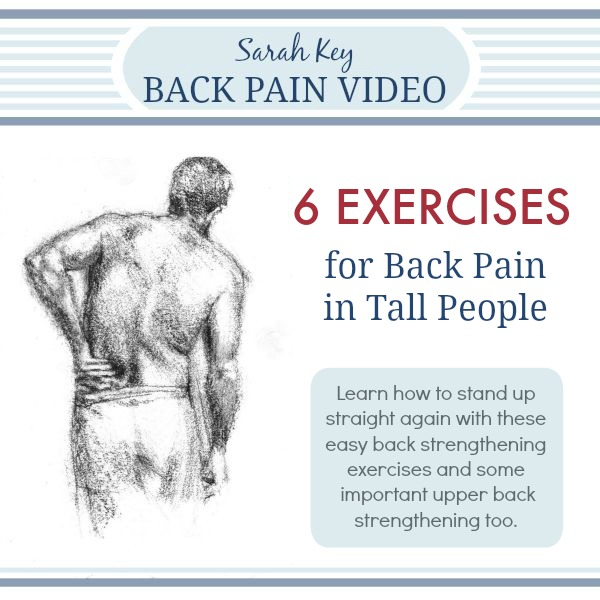 Graphic 6 Exercises for Back Pain