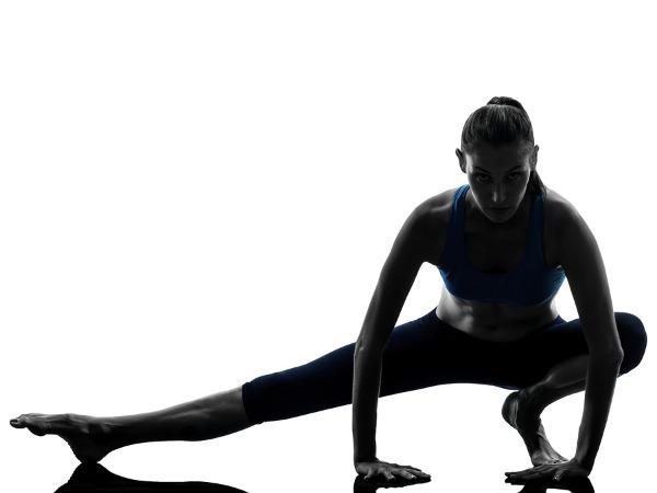 Girl demonstrating Yoga for Back Pain
